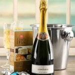 Champagne And Ice Bucket Hamper For men
