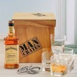 Jack Daniels Honey Man Crate