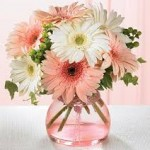 flower delivery companies in cape town - bouquet of flowers in a vase